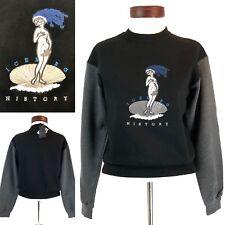 Iceberg History Simpsons Adult Marge Sweatshirt Size 38 Small Vintage Womens NWT
