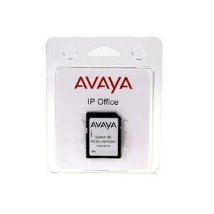 Avaya IP 500 V2 SD Card R11 Essential Preferred VM PRO SIP Trunks IP Endpoints