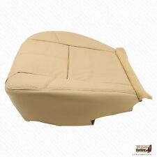 2007 2008 2009 2010 GMC Sierra 2500HD Driver Side Bottom Leather Seat Cover Tan