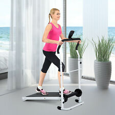 Home Gym Manual Treadmill Walking Machine Cardio Workout Foldable