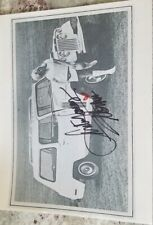 Jeepster signed photo with Linda Vaughn