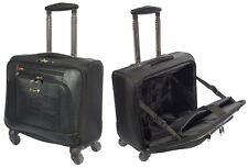 Roues Pilote case noir Trolley Ordinateur Portable Business Travel Cabin Approuvé nouveau sac