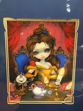 Jasmine Becket-Griffith Belle's Enchantment Double-Matted Print WonderGround New