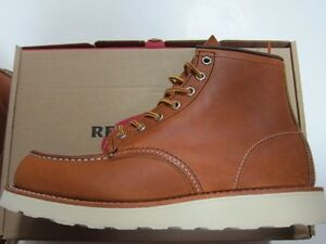 "Red Wing Heritage Classic 6"" Moc-Toe Work Boot #875 Made in USA"