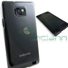 Custodia CRYSTAL case rigida per Samsung Galaxy S i9100 aderente trasparente