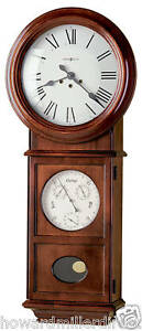Howard Miller 620-249 Lawyer II - Traditional Key-Wound Chiming Wall Clock