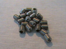 M5 x 6 mm A2 Stainless Steel Grub Screws Socket Cup Point Screw Din 916