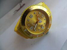 Vintage gelb Unisex Ice Watch