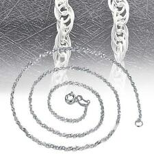 18″ Women Beautiful Rope Chain 925 Sterling Silver Refined Necklace Jewelry AD