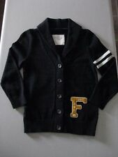 """Abercrombie & Fitch Sweater """"V"""" neck with collar 3/4 button up *RARE* / M / NWOT"""
