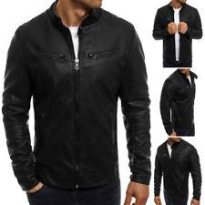 Jacken im Bikerjacken-Stil aus Kunstleder