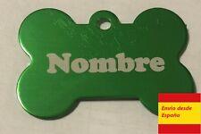 Chapa/Placa Personalizada identificativa para perros-Gatos.Grabadas.Enviogratis.