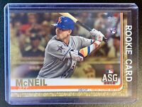 2019 Topps Update #US261 JEFF McNEIL Rookie Gold Parallel SP /2019 New York Mets