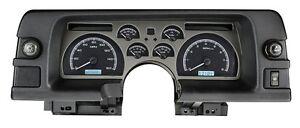 1990-92 Chevrolet Camaro Dakota Digital Black Alloy & White VHX Analog Gauge Kit