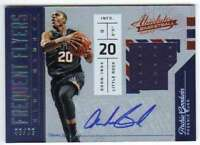 2016-17 Absolute Frequent Flyer Material Autograph AUTO /75 #15 Archie Goodwin