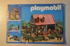 7274 playmobil folder brochure leaflet prospekt 1984 MEDIUM