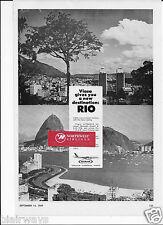 VIASA VENEZUELA 1969 A NEW DESTINATION RIO DE JANIERO/CARACAS #794 DC-8 AD