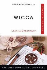 WICCA - GREENAWAY, LEANNA/ ILLES, JUDIKA (FRW) - NEW PAPERBACK BOOK