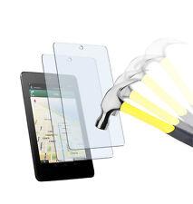 2 x lámina tanques asus Google Nexus 7 (2012) claramente TPU protector de pantalla Lámina