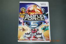 Hot Wheels Battle Force 5 Nintendo Wii UK Pal