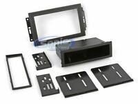 Scosche CR1289B Single/Double DIN Install Kit for 2005-Up Chrysler/Jeep Vehicles