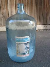 Vintage Collectible 5 Gallon Arrowhead Puritas Water bottle Original Label