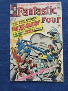 Fantastic Four #28(1964), Marvel Silver Age, Lee/Kirby, X-Men x-over
