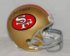 Joe Montana Autographed F/S San Francisco 49ers 64-95 TB Helmet- JSA W Auth
