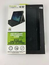 M-Edge Folio Pro Keyboard Universal Case for iPad, Tablets 9-10""