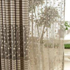 New Jacquard Warp Knitting Curtains For Window Living Room Sun-shading Curtain