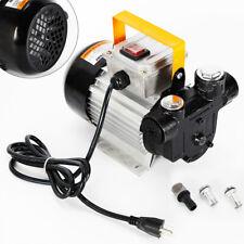 16Gpm 550W Electric Oil Diesel Fuel Transfer Pump Self Priming Pump 110V 60L/min