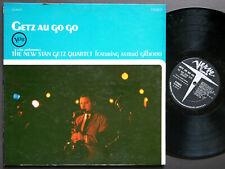 STAN GETZ Quartet ASTRUD GILBERTO Getz Au Go Go LP VERVE V6-8600 US 1964 RVG DG