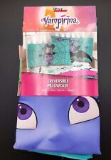 Disney Junior Vampirina Pillowcase Blue Standard 20in x 30in New