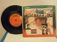 "The Police,A&M,""De Do Do Do,De Da Da Da"",US,7""45 w P/S,Japan & Spain versions,M"