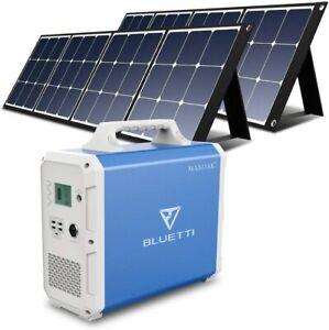 ⚡ MAXOAK Lithium Portable Puissance Station Bluetti 1500Wh 1000W 110V Solaire