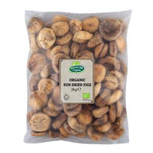 Organic Sun Dried Figs 2kg Certified Organic