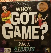 Who's Got Game?  The Game by Neil Strauss