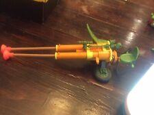 Vintage 1990's TMNT Teenage Mutant Ninja Turtles Double Barreled Plunger Gun