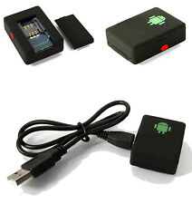 Rechargable Quad Band Spy Bug GSM Tracking Listening Eavesdropping Device - INT