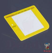 Game Boy Classic – Display Cover/Bildschirm Scheibe/Linse - gelb / yellow NEU!!!