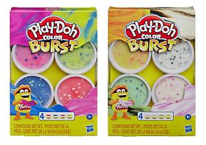 .Play-Doh Colour Burst - Colours Swirl and Change PlayDoh New UK Seller.