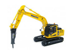 Komatsu PC210 LC Excavator with Hammer Diecast Model Excavator 8096