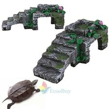 Aquarium Tank Reptile Turtle Basking Terrace Resin Island Platform Dock Decor