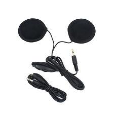 Motorrad Helm Lautsprecher Stereo Kopfhörer 3.5mm Headset Sporthelme GPS MP3 Neu