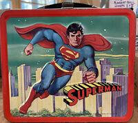 Vintage 1978 Aladdin DC Comics Superman Metal Lunch Box