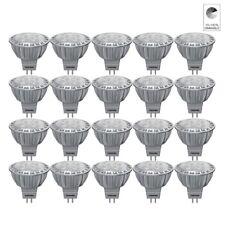 20 x TOSHIBA E-CORE MR16 LAMPE LED réflecteur 6.5W remplacé 35W