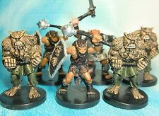 Dungeons & Dragons Miniatures Lot  Bugbear Strangler Bugbear Champion !!  s112