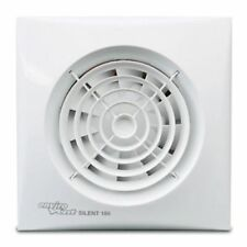 Envirovent SIL100T Timer Silent 100mm Extractor Fan for Bathroom or Toilet