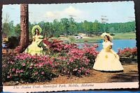 Azalea Trail Municipal Park Mobile Alabama 1976 Vintage Postcard