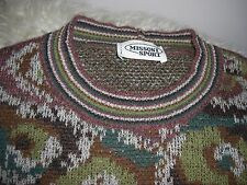 NEW Men's Missoni Sport Wool Blend Vintage Abstract Sweater 46 S NWOT